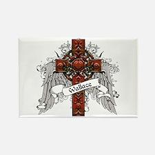 Wallace Tartan Cross Rectangle Magnet