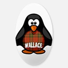 Wallace Tartan Penguin Decal
