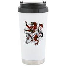 Wallace Tartan Lion Travel Mug