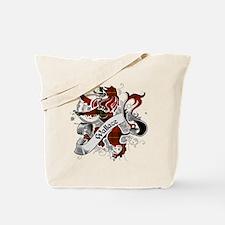 Wallace Tartan Lion Tote Bag