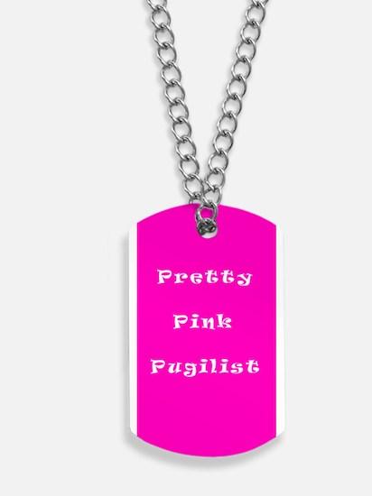 Pretty Pink Pugilist Breast Cancer Fighter 24 Dog