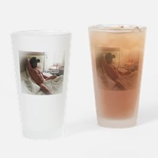 Funny Tony Drinking Glass