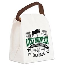 Rocky Mountain Vintage Canvas Lunch Bag