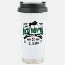 Rocky Mountain Vintage Travel Mug