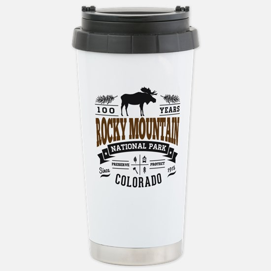 Rocky Mountain Vintage Stainless Steel Travel Mug