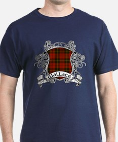 Wallace Tartan Shield T-Shirt