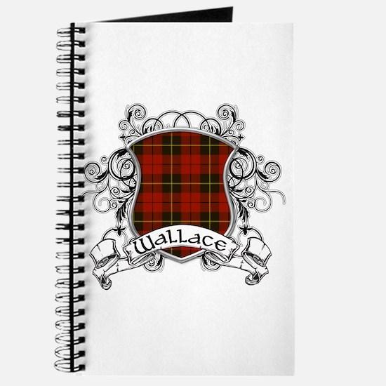 Wallace Tartan Shield Journal