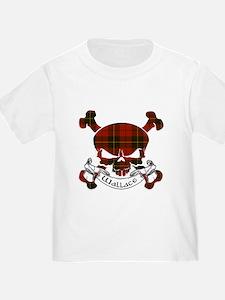 Wallace Tartan Skull T