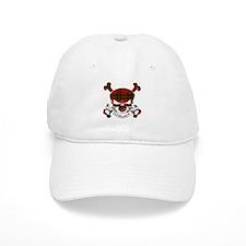 Wallace Tartan Skull Baseball Cap