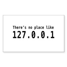 No place like 127.0.0.1 Decal