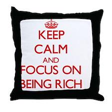 Unique Filthy rich Throw Pillow