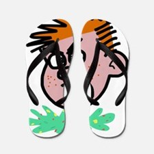 Cute Rock kid Flip Flops