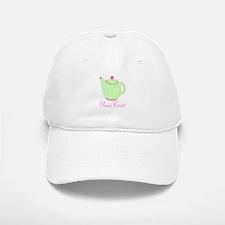 Personalizable Pink and Green Teapot Baseball Baseball Baseball Cap