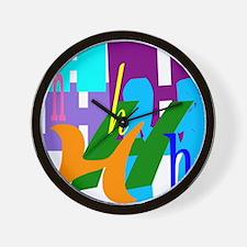 Initial Design (H) Wall Clock