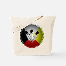 Three Eagle Feathers Tote Bag