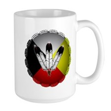 Three Eagle Feathers Mugs