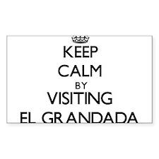 Keep calm by visiting El Grandada California Stick