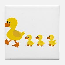 Unique Duck Tile Coaster
