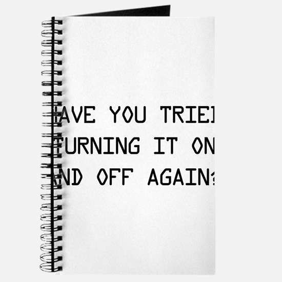 Turn on and off again? Journal