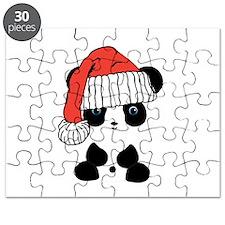 Santa Panda Bear Puzzle
