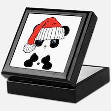 Santa Panda Bear Keepsake Box