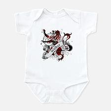 Walker Tartan Lion Infant Bodysuit