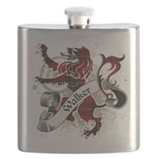Walker Tartan Lion Flask