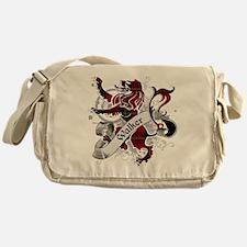 Walker Tartan Lion Messenger Bag