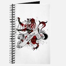 Walker Tartan Lion Journal