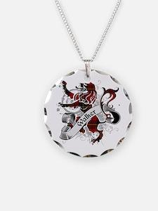 Walker Tartan Lion Necklace