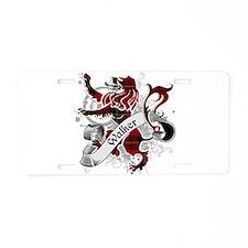 Walker Tartan Lion Aluminum License Plate