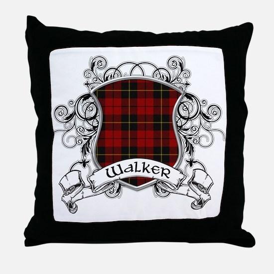 Walker Tartan Shield Throw Pillow