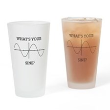 What's your sine? Drinking Glass