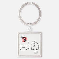 Ladybug Emily Keychains