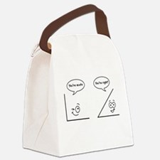 You're acute Canvas Lunch Bag