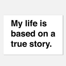 My life is based on a true story Postcards (Packag