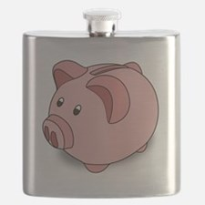 Piggy Bank Flask