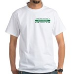 Hugged Berger White T-Shirt