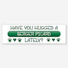Hugged Berger Bumper Bumper Bumper Sticker