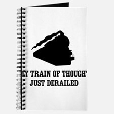 My Train Of Thought Just Derailed Journal