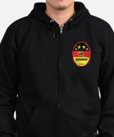 WORLD CUP FOOTBALL 2014 - GERMAN Zip Hoodie