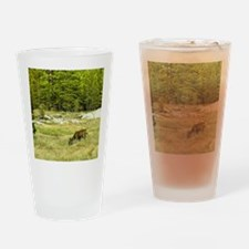 Peacefully Grazing Drinking Glass