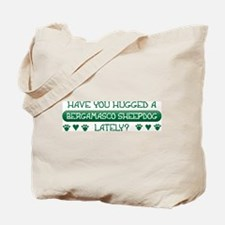 Hugged Bergamasco Tote Bag