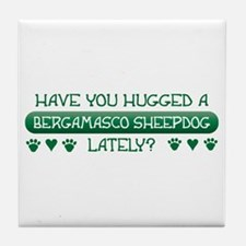 Hugged Bergamasco Tile Coaster