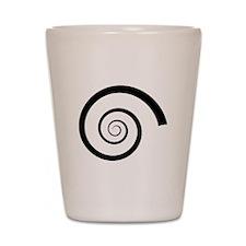 Hypnotist Swirl Shot Glass