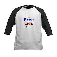 Free Lies Baseball Jersey