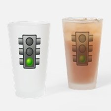 Green Light Drinking Glass