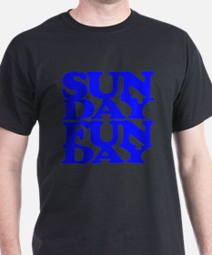 Sunday Funday Blue T-Shirt