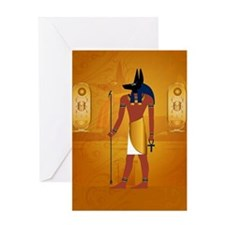 Anubis1 Greeting Cards