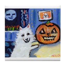 ESKIE halloween Tile Coaster